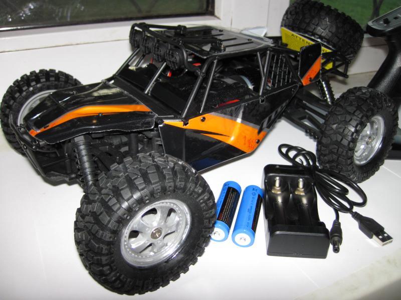 Машинка багги HBX 12815, полный привод 4X4 ,  масштаб 1:12 , цвет оранжевый с черным. Длина 40 см. Скорость 40 км/ч.
