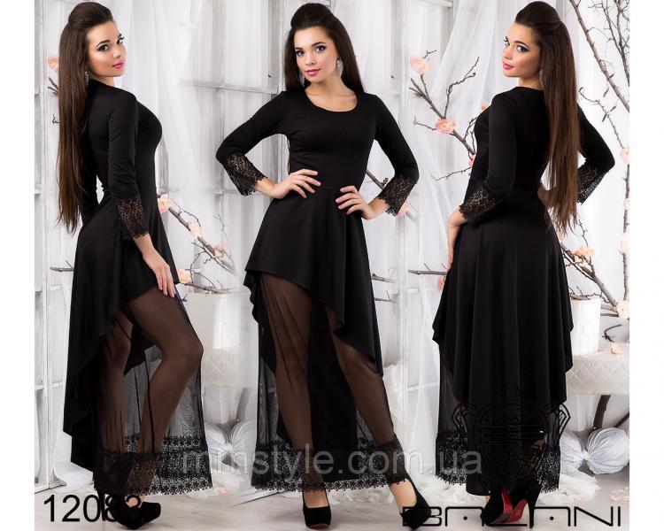 Шикарное  платье  в  пол  -  12083
