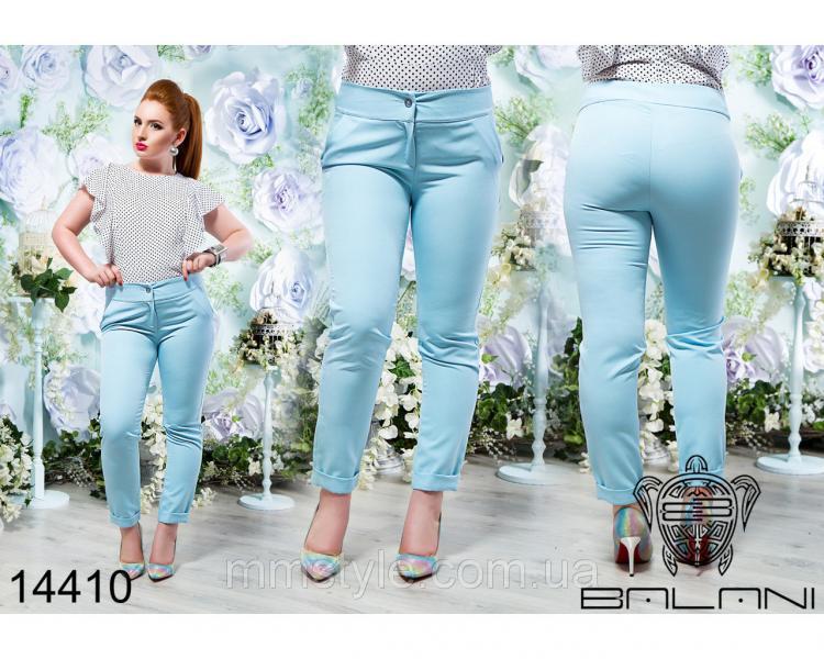 Укороченные  брюки  -  14410
