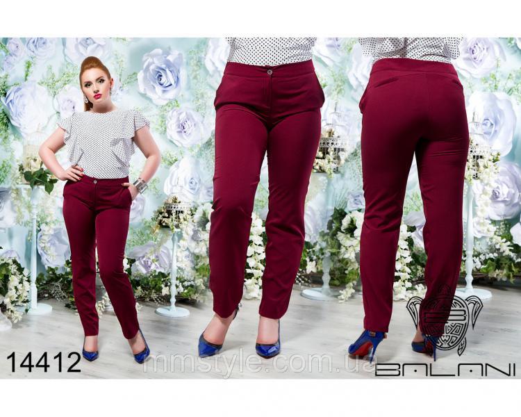 Стильные  брюки  -  14412