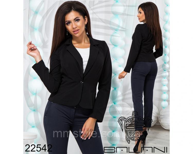 Пиджак укороченый - 22542