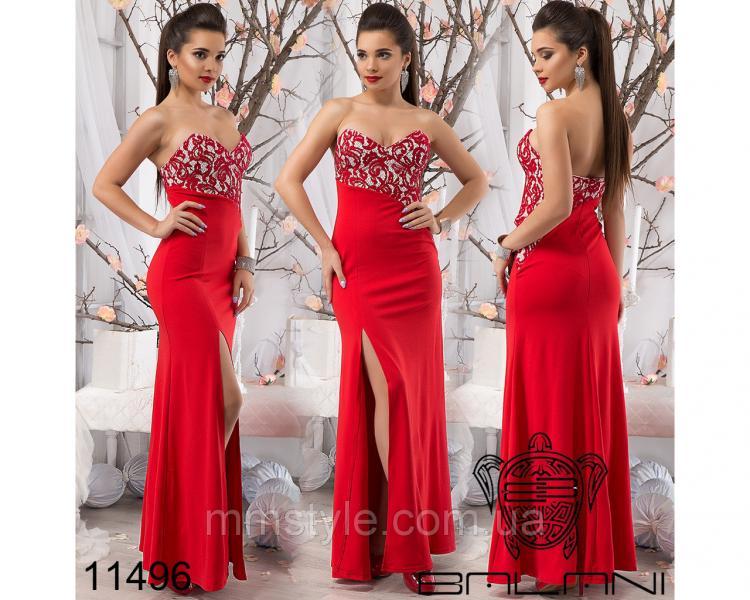 Вечернее  платье  -  11496
