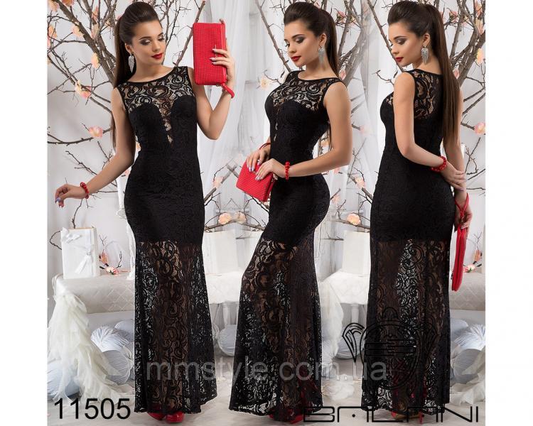 Вечернее  платье  -  11505