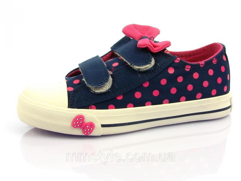 Детская спортивная обувь кеды Шалунишка:200-005