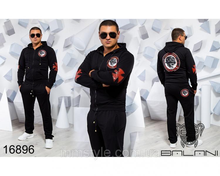 Мужской спортивный костюм - 16896, Замеры изделия указаныниже: