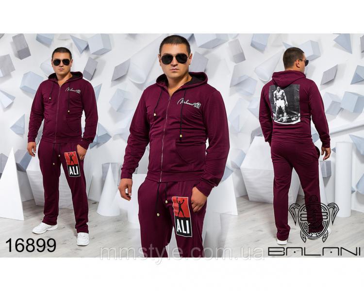 Мужской спортивный костюм - 16899, Замеры изделия указаныниже: