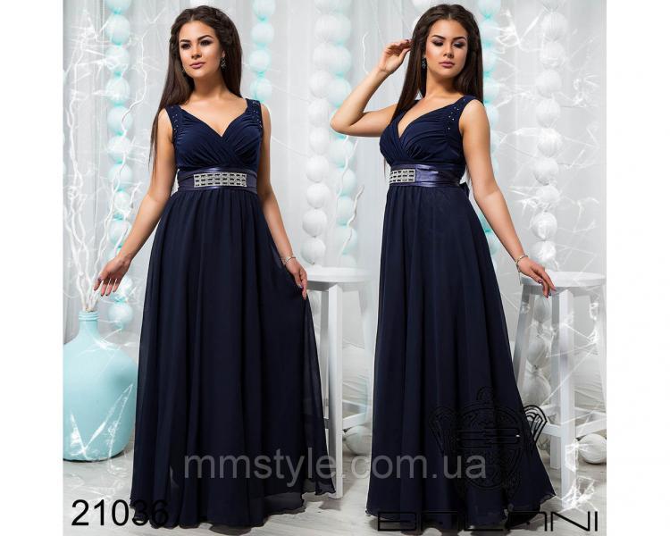 Стильное вечернее платье - 21036