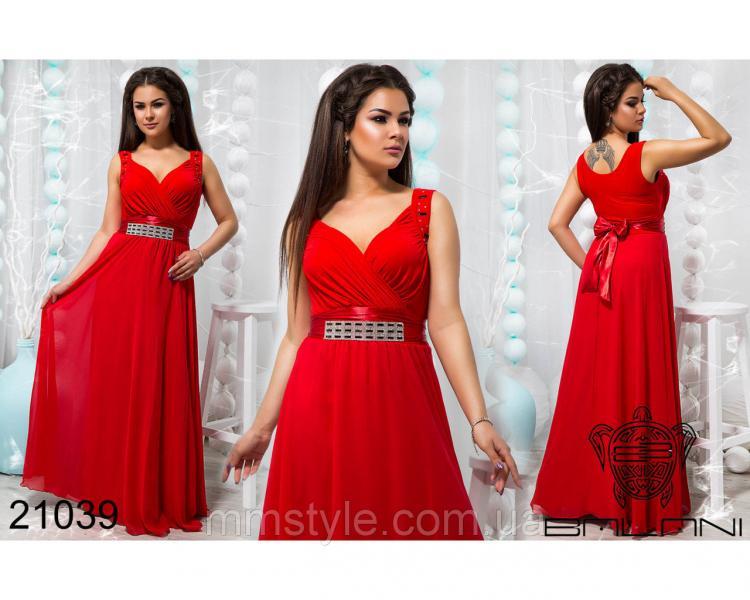 Стильное вечернее платье - 21039