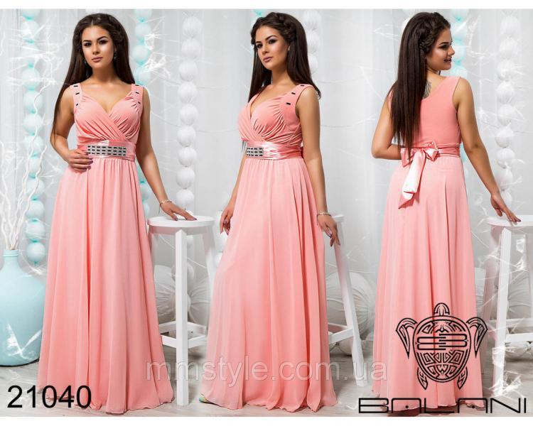 Стильное вечернее платье - 21040