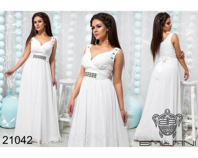 Стильное вечернее платье - 21042