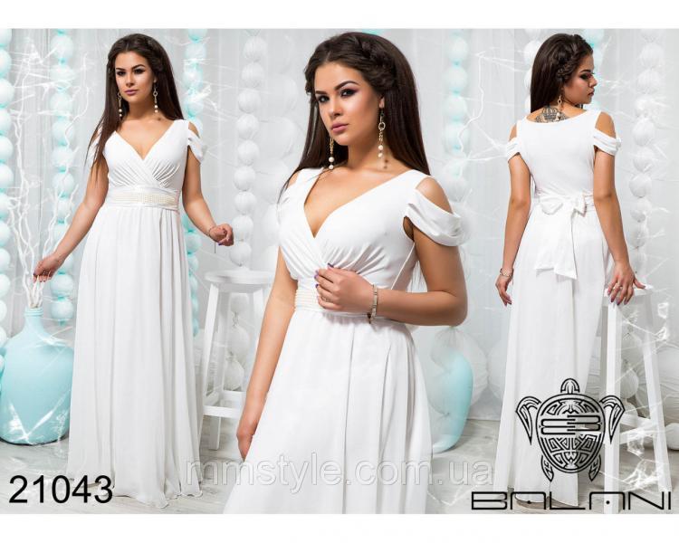 Шикарное вечернее платье - 21043