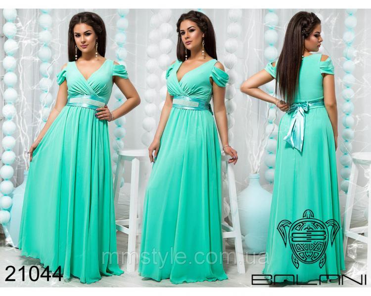 Шикарное вечернее платье - 21044
