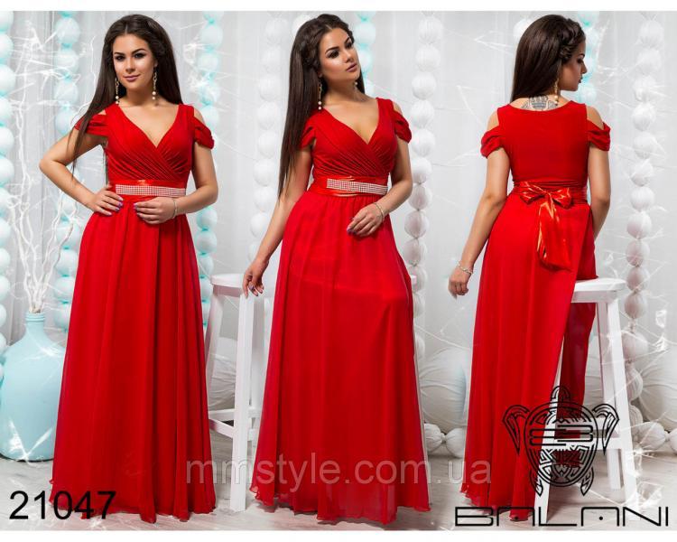 Шикарное вечернее платье - 21047