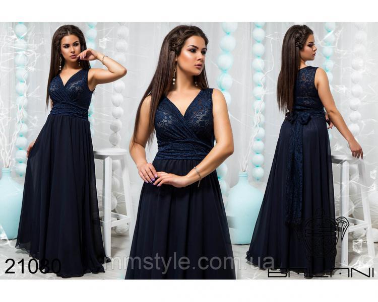 Стильное вечернее платье - 21080
