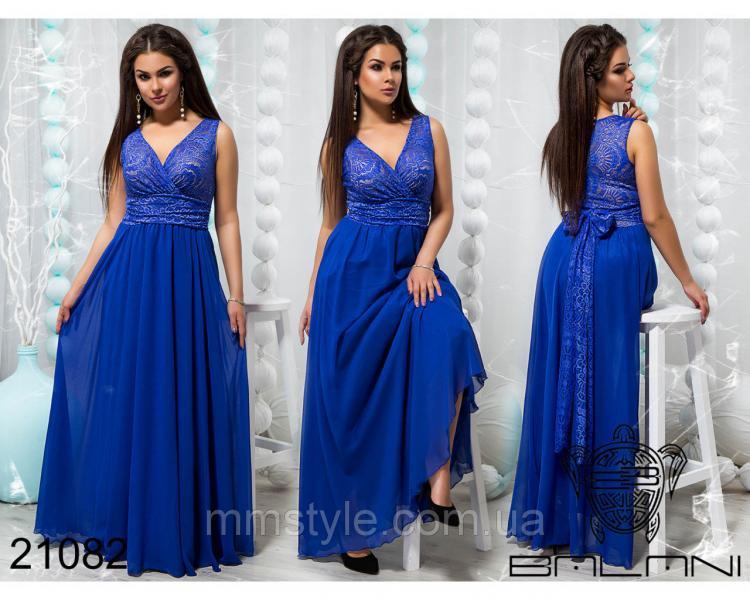 Стильное вечернее платье - 21082