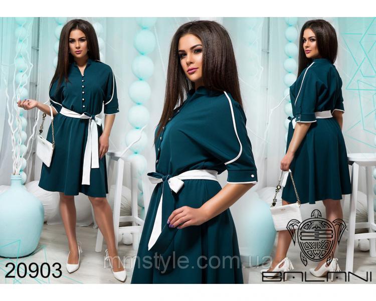 Элегантное короткое платье - 20903