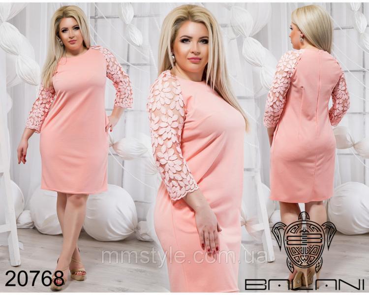 Шикарное короткое платье - 20768
