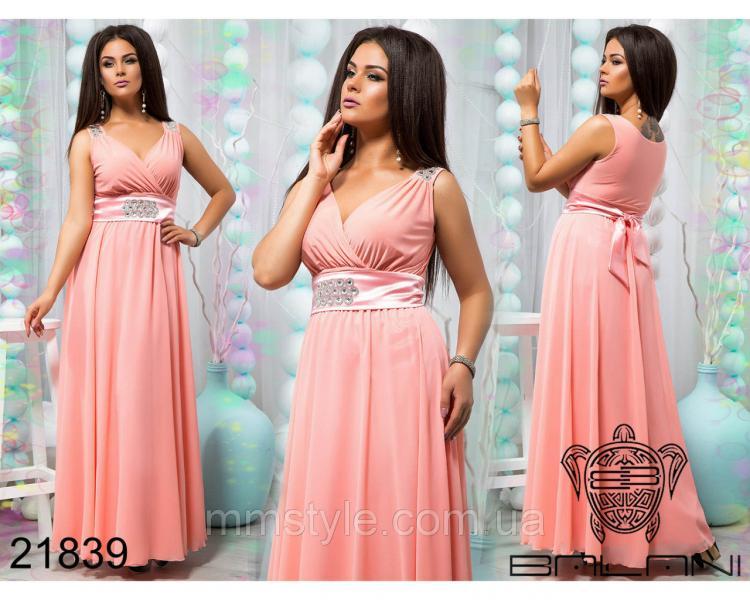 Шикарное вечернее платье - 21839