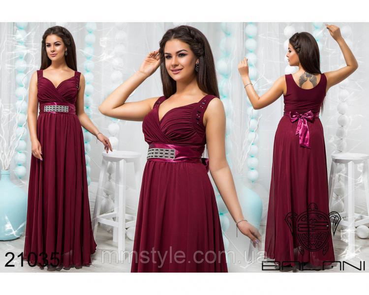 Стильное вечернее платье - 21035
