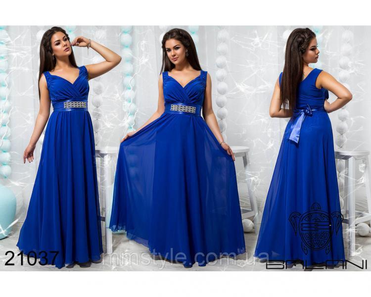 Стильное вечернее платье - 21037