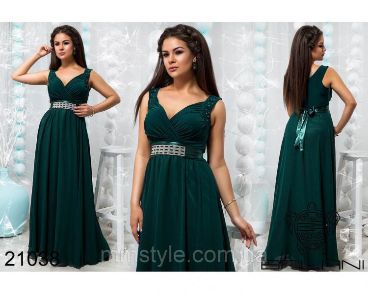 Стильное вечернее платье - 21038