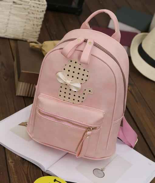 """Рюкзак розовый """"Котенок"""""""