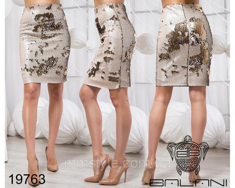 Удлиненная юбка - 19763
