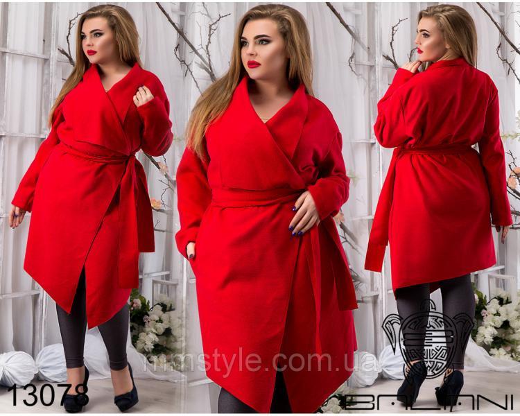 Пальто  с  углами  -  13078