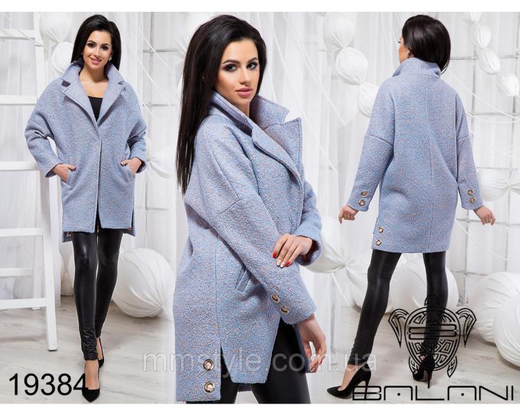 Стильное короткое пальто - 19384