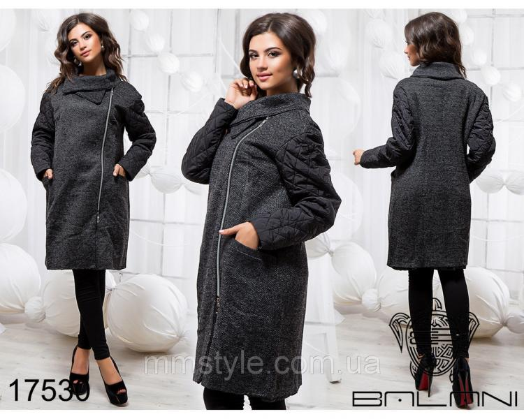 Стильное пальто - 17530
