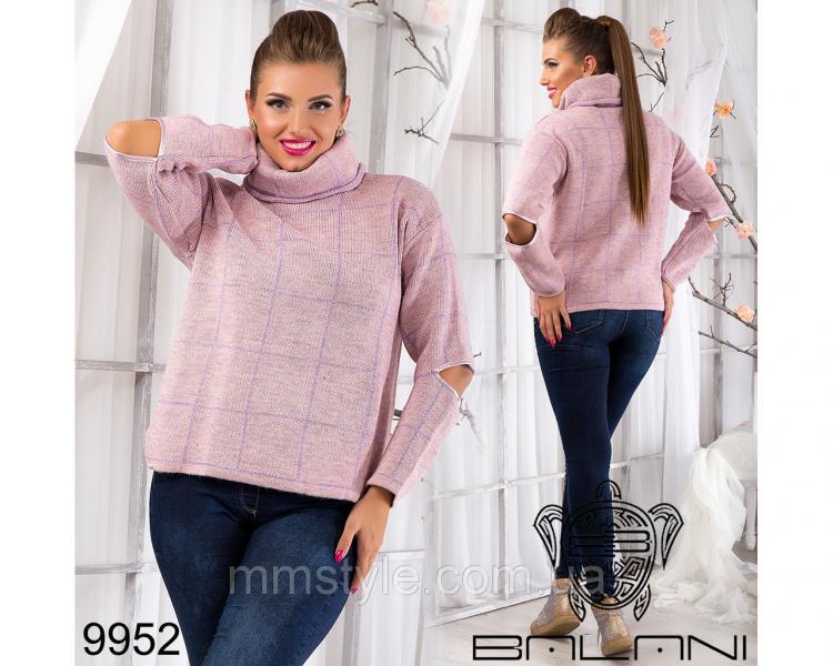 Теплый  свитер  -  9952