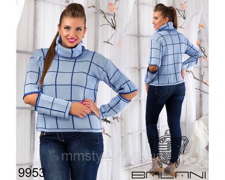 Теплый  свитер  -  9953