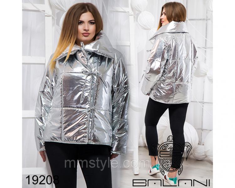 Стильная куртка на завязках - 19208