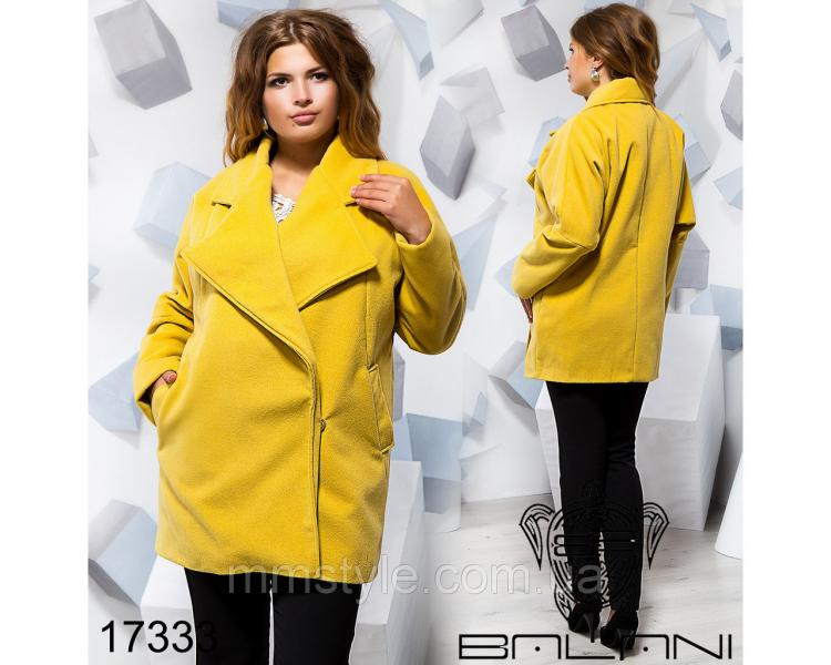 Кашемировое пальто - 17333