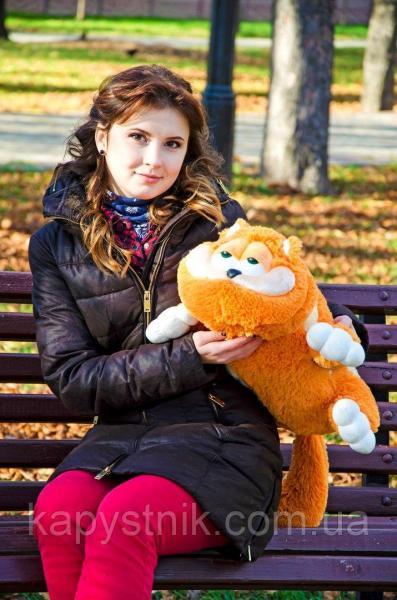 Мягкая игрушка Кот Гарфилд ТМ My Best Friend (Украина) рыжий