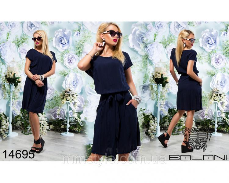Легкое  штапельное  платье  -  14695