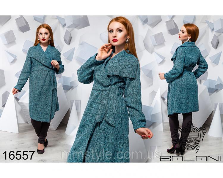 Стильное пальто - 16557