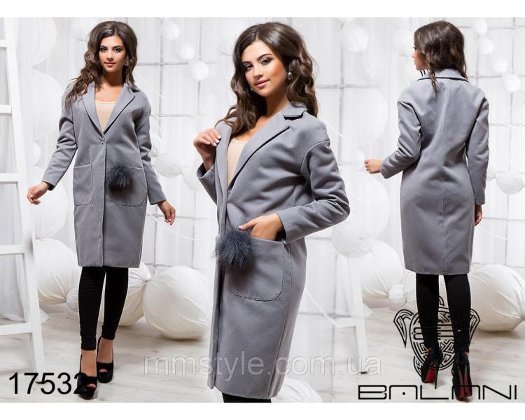 Элегантное пальто - 17532