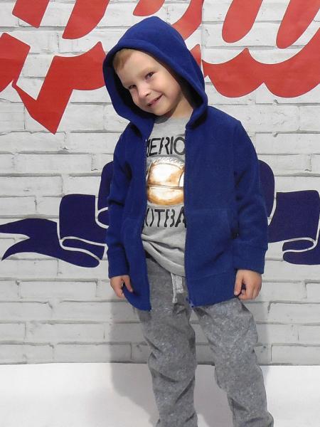 Толстовка для мальчика Бренд Fox Израиль 4 года 104-110см