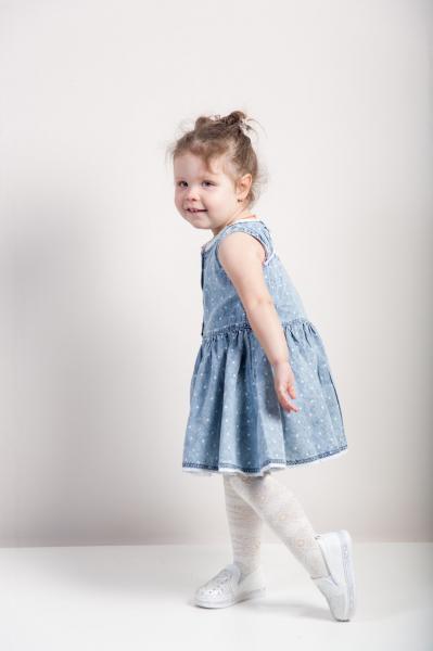 Платье для девочек Бренд Fox Израиль 2 года рост 86-92 см
