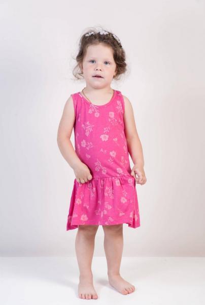 Платье для девочки Бренд Fox Израиль 12-18 мес. рост 74-80 см