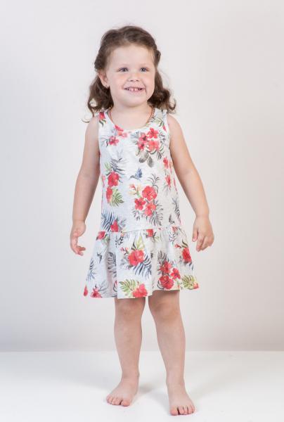 Платье для девочек Бренд Fox Израиль 6-12 мес. рост 68-74 см