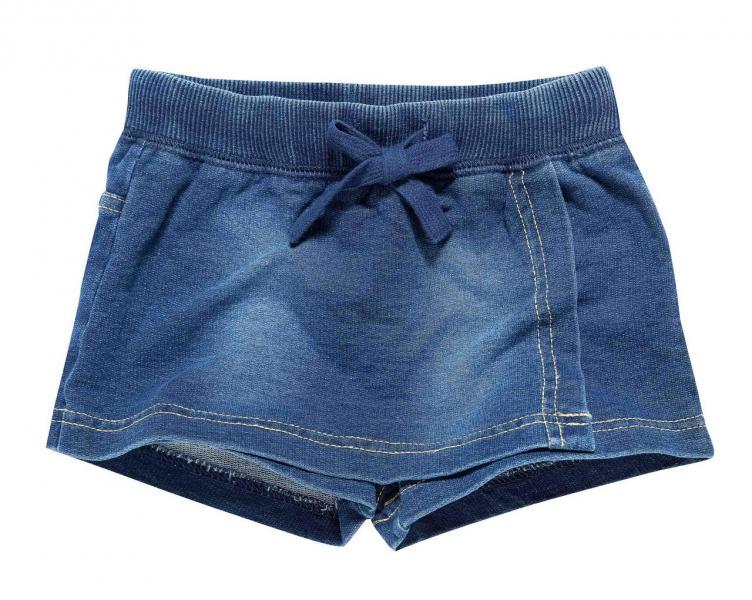 Юбка-шорты джинс для девочки Бренд Fox Израиль 3-6 мес. рост 62-68 см