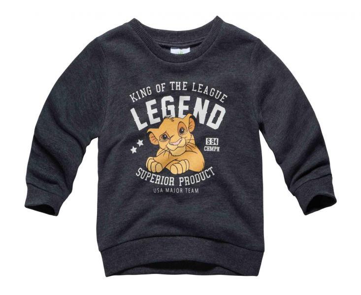 Толстовка  для мальчика Бренд Fox Израиль коллекция Disney 6-12 мес. рост 68-74 см