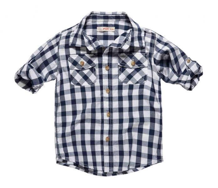 Рубашка для мальчика Бренд Foxkids Израиль для мальчика Бренд Foxkids Израиль 2 года рост 86-92 см