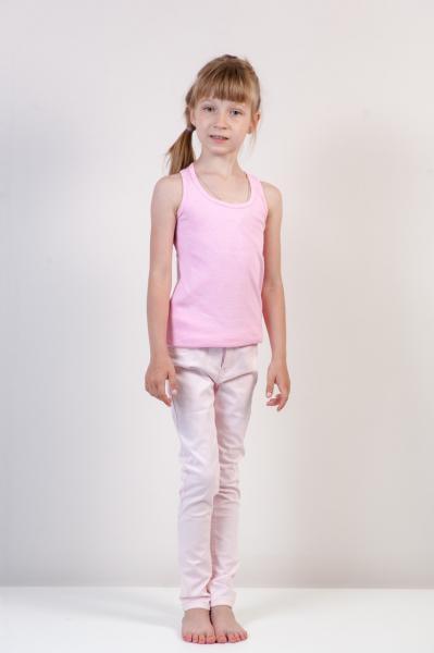 Летняя Майка без рисунков  для девочки Бренд Fox Израиль