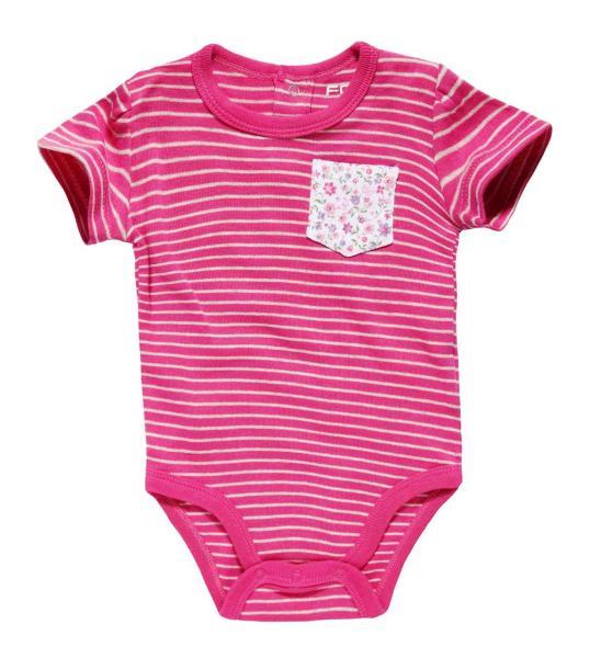 Боди  для девочки с коротким рукавом от 3 месяцев до 2 лет рост 92 см  Бренд Fox Израиль 12-18 мес. рост 74-80 см