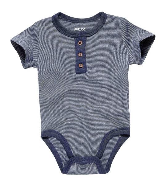 Боди с коротким рукавом от 3 месяцев до 2 лет для мальчика Бренд Fox Израиль 2 года рост 86-92 см