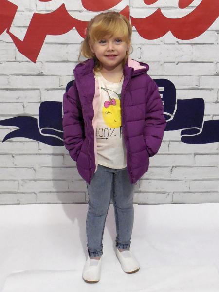 Курточка для девочки Бренд Foxkids Израиль 3 года рост 92-98 см