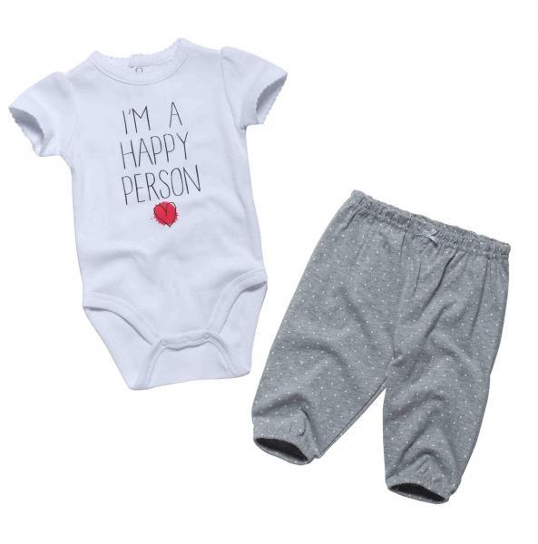Комплект летний боди+ штанишки для девочки от 3 мес. до 2 лет Бренд Fox Израиль